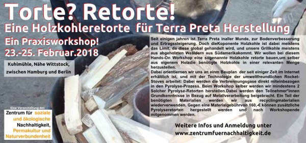 Torte? Retorte! Praxisworkshop am 23. – 25. Februar 2018